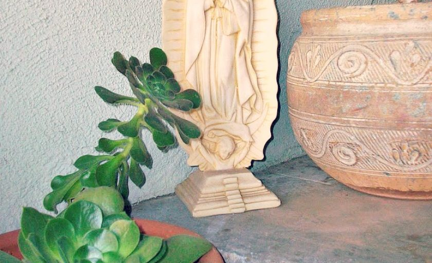 My first Virgen statue: Mary, mary