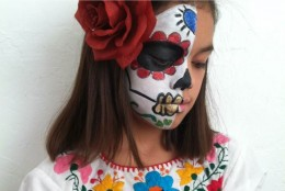 Video: Sugar Skull Makeup for Kids