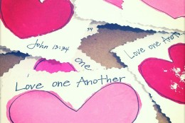 Valentine's Day Printable: Love One Another