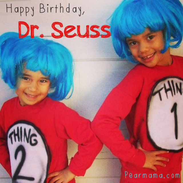 image relating to Dr Seuss Happy Birthday to You Printable named Dr. Seuss: Delighted Birthday in the direction of your self! Printable Pearmama
