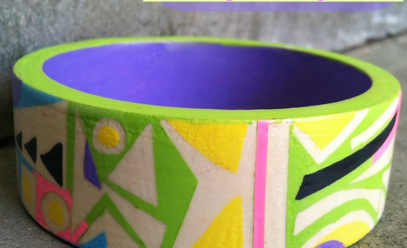 Kids Craft: Easy DIY Bangle