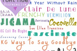 Tales of a Font Hoe: 19 favorite fonts