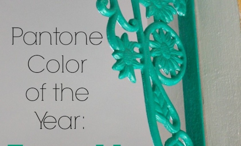 Injecting color with Pantone Color of the Year: Emerald