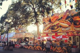 Yummy food at the L.A County Fair