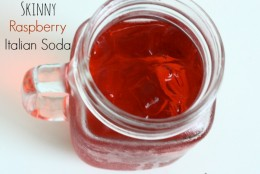 "How to make your own ""Skinny"" Raspberry Italian Soda"
