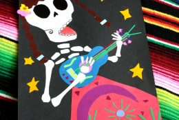 Day of the Dead-inspired Paper Collage for Kids