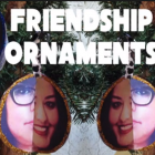 Make your own friendship ornaments this Christmas.