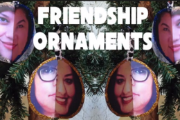 Video: How to make friendship ornaments