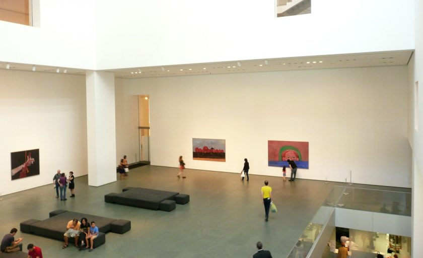 Visiting the Museum of Modern Art New York