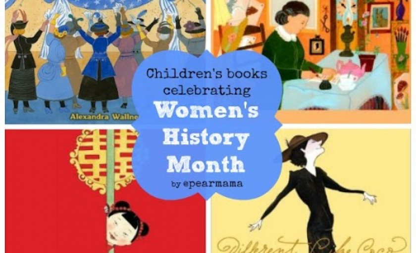 Children's books celebrating Women's History Month