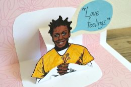 OITNB: Crazy Eyes-inspired Pop Up Love Note