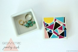 Restyle: Geometric Jewelry Dish DIY
