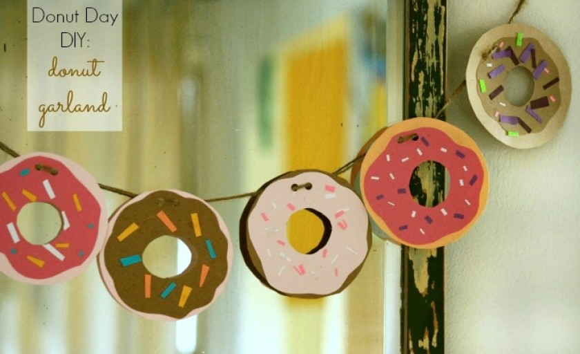 National Donut Day: How to Make a Donut Garland