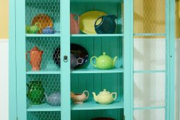 Transforming my Home with Sherwin-Williams: Painted China Cabinet