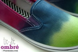 How to: Tie-Dye Ombre Shoes