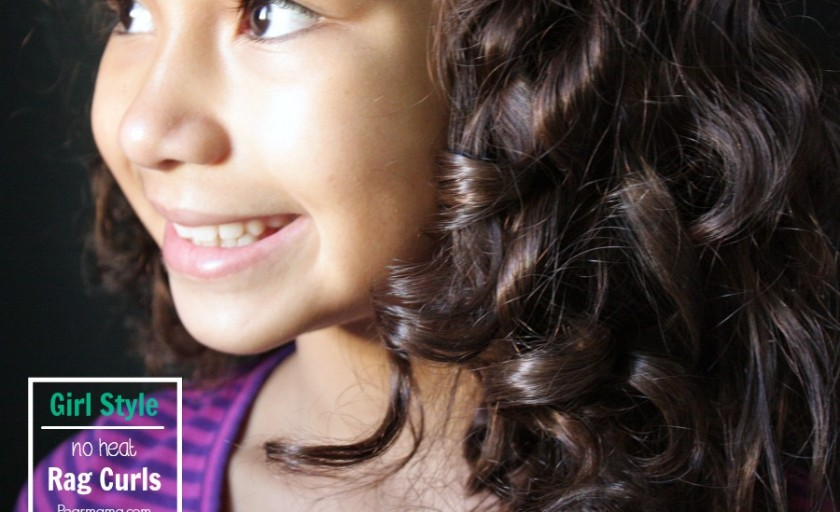 Girl Style: How To Make No-Heat Rag Curls
