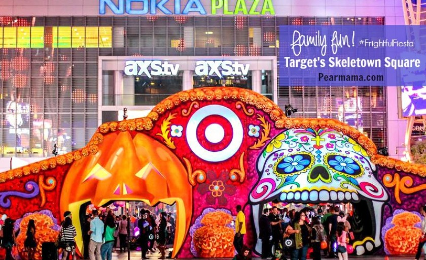 Halloween family fun: Target's Skeletown Square