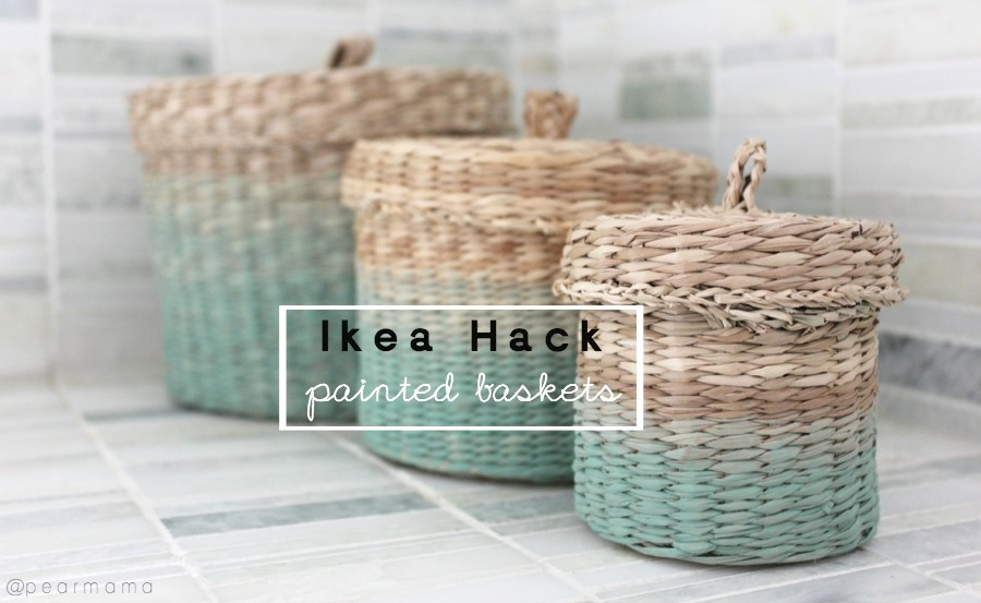 ikea-hack-painted-baskets-diy
