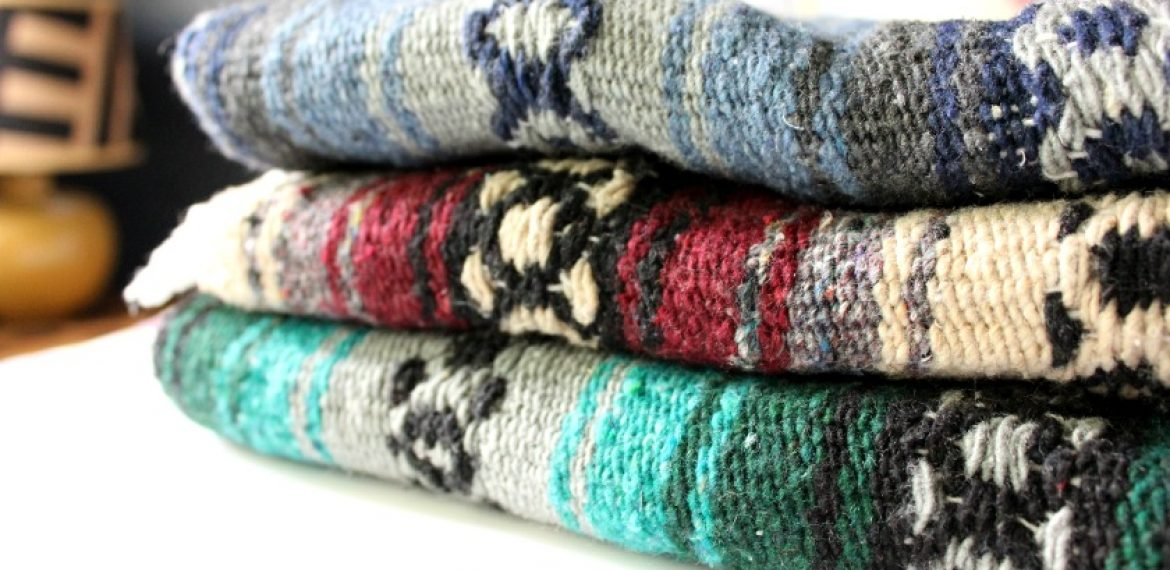 DIY: Mexican Serape Pillows