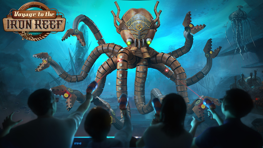 Voyage to the Iron Reef On-Ride 1