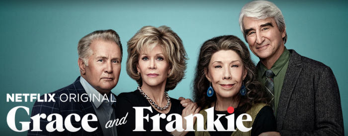 Loving Grace & Frankie, the new original series on Netflix.