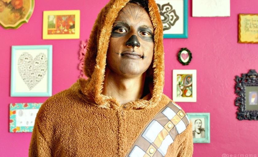 Halloween: Star Wars-inspired Chewbacca costume