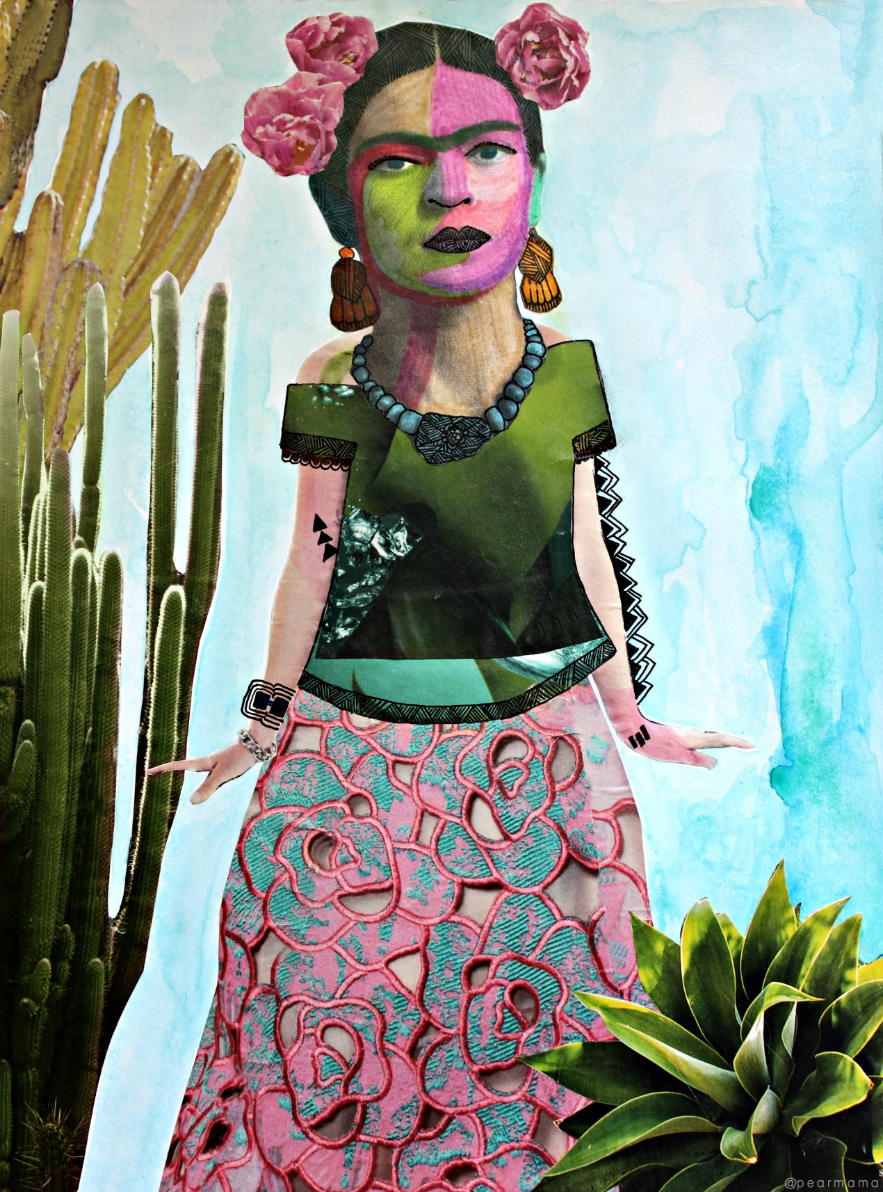 Unlike the male artists of the day, Frida Kahlo didn't need any fancy landscapes or ballerinas as her muse -- she had herself. And it was enough.