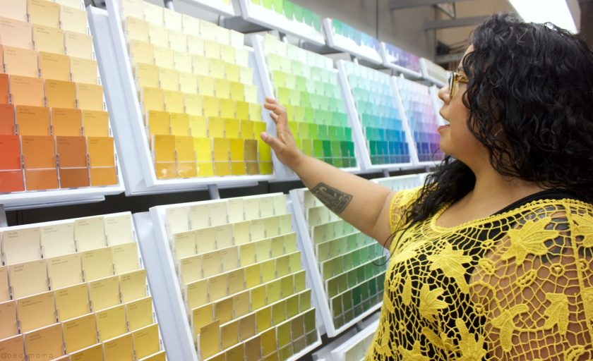 I love my Sherwin-Williams store #SWColorLove