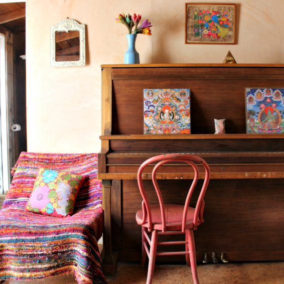 Airbnb: Our Earthy Cabin in Santa Barbara