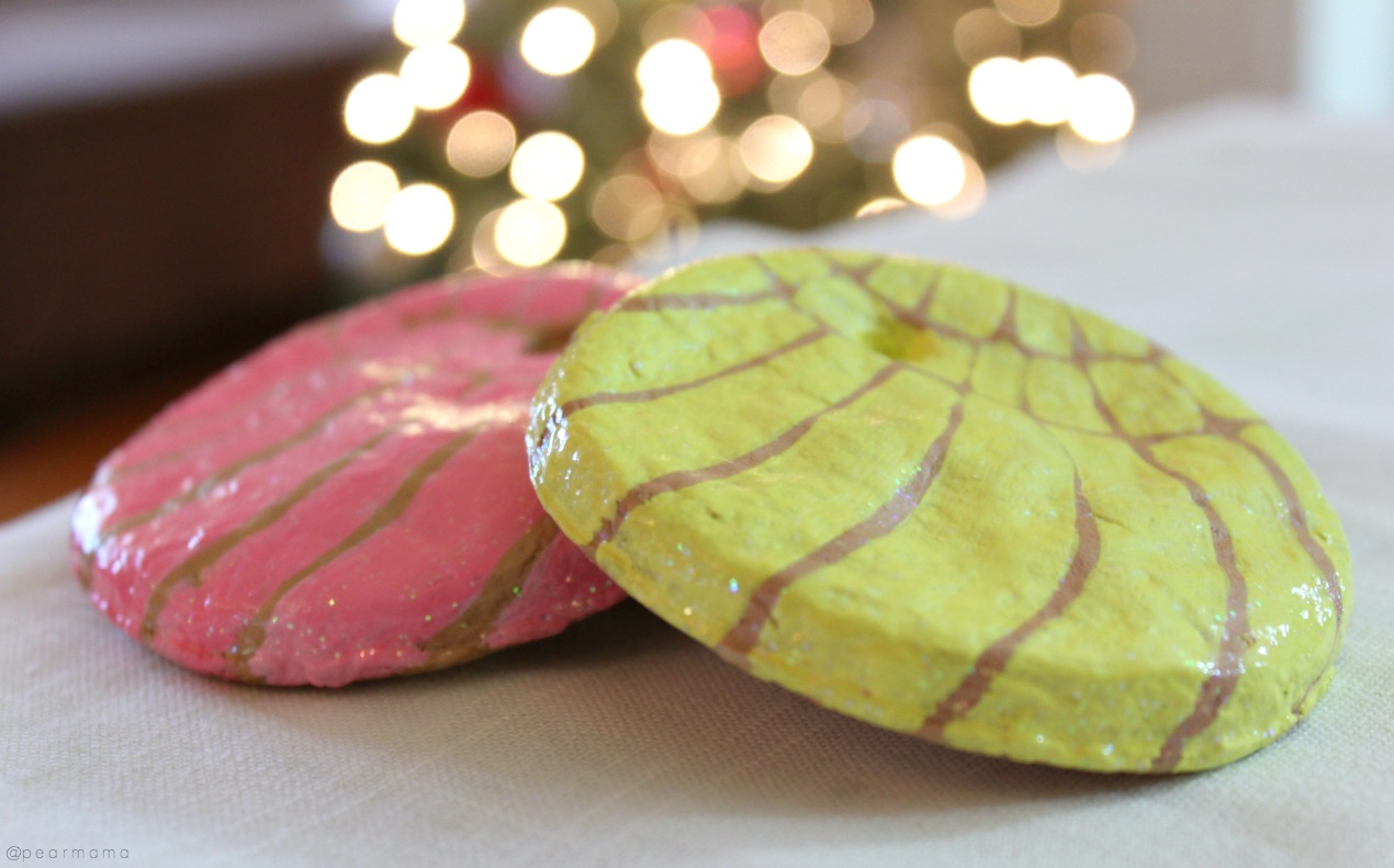 diy-concha-pan-dulce-ornaments