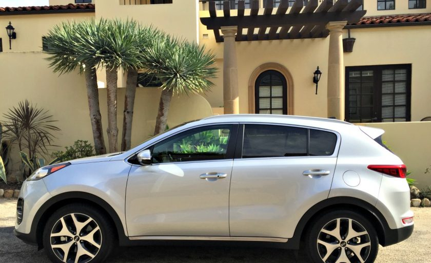 California coastin' in the Kia Sportage